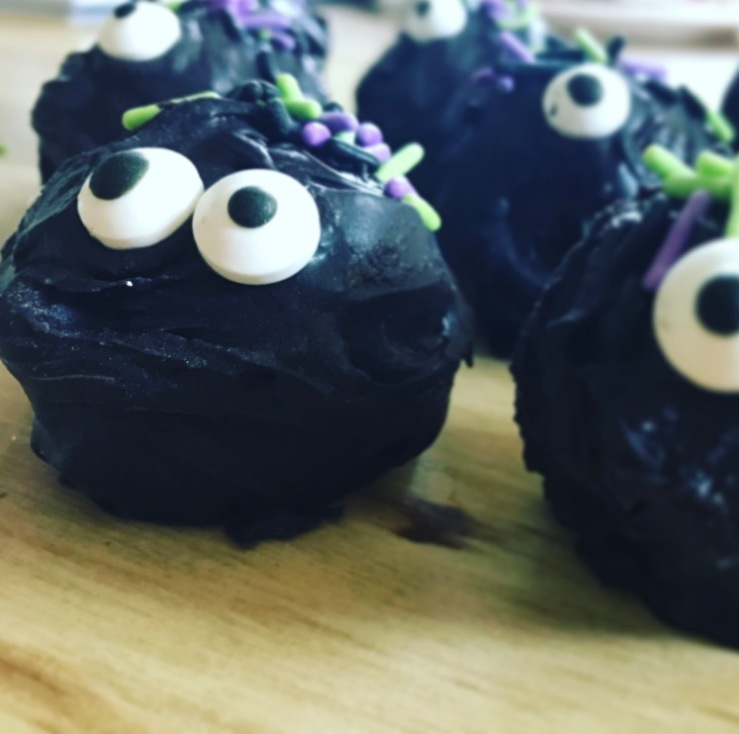 Halloween Oreo Truffle Monster