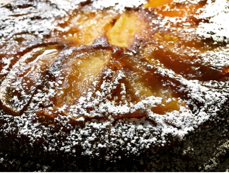 Apple Cake Close Up