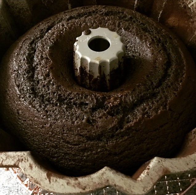 Chocolate Peppermint Bundt Cake Pan